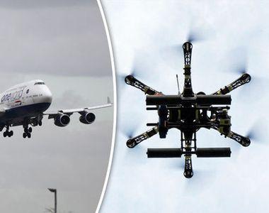 Un român a fost arestat la Londra, în cazul incidentului cu drona de pe aeroportul...