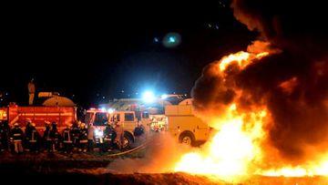 Bilanţul exploziei la o conductă de combustibil din Mexic a ajuns la 85 de morţi