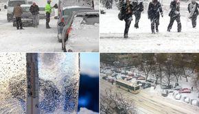 Nu scăpăm de vremea rea! Anunț de ultimă oră de la meteorologi: Ninsori și ploi înghețate în săptămâna care urmează