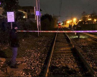 Tragedie în Italia! Un român a murit după ce s-a aruncat în fața trenului