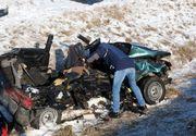 Imaginile durerii de la accidentul din Ungaria. Mai mulți morți și opt mașini distruse pe  autostrada M3. Printre victime sunt și români