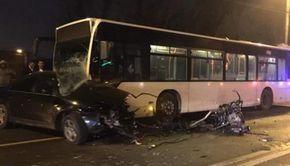 Accident grav în Capitală. Două persoane au murit