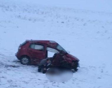 Accident grav pe drumul Botoșani Iași. Liliana, în vârstă de 28 de ani, și-a pierdut viața