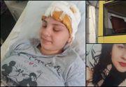 Care este starea reală de sănătate a fetei care a căzut în cap prin geamul unui autobuz din Ploiești. Avocata face un apel disperat