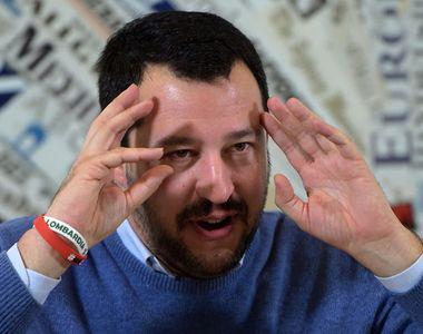 Matteo Salvini, inculpat pentru sechestrare de persoane pentru că a oprit debarcarea...