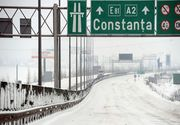 Autostrada A2 și alte patru drumuri naționale, ÎNCHISE din cauza poleiului. Mare atenție, șoferi!