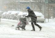 Ultimă oră! Meteorologii anunță un nou val de viscol și ninsori. Peste 20 de județe sunt vizate