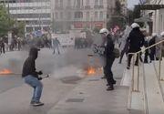 Proteste violente în Grecia. Acordul greco-macedonean zdruncină țara
