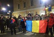 Protest la Sibiu. Sute de oameni în stradă împotriva OUG de repunere în termen a celor condamnați de completele de 5 judecători