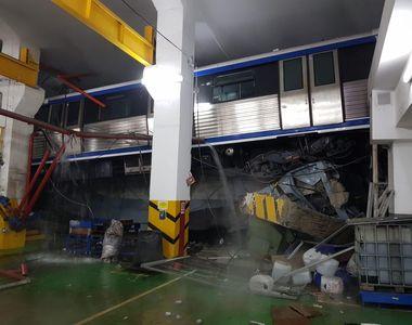Panică la metrou! Un tren a sărit de pe șine la stația Berceni