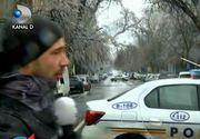 Este stare de alertă în Capitală din cauza gheții depuse! Circulația tramvaielor a fost întreruptă pe mai multe linii