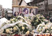 Gabriela Rîpan, condusă pe ultimul drum de sute de oameni. Tânăra a fost înmormântată într-un sicriu alb