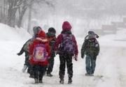 Școlile ar putea fi închise, după declararea epidemiei de gripă