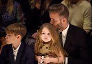 David Beckham, un tată modern! Coase rochițe pentru păpuși alături de fiica sa. Nu l-ai mai văzut în astfel de ipostaze