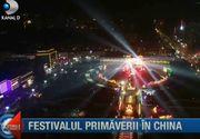 Pregătiri în toi pentru Noul An Chinezesc! Imagini spectaculoase de la Festivalul Primăverii