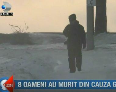 Disperare în SUA din cauza vremii! 8 oameni au murit din cauza frigului. Temperaturile...