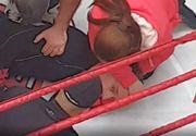 Mircea Badea a fost făcut astăzi K.O. după doar 5 secunde, într-un meci de box. Imagini șocante