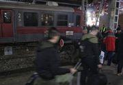 S-a întins pe linia de cale ferată și a așteptat să fie tăiat de tren. Incident șocant la Buzău