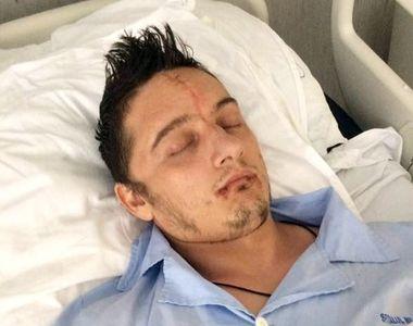 Starea polițistului care a fost lovit cu sabia în cap de către un interlop s-a înrăutățit