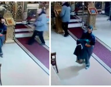 Culmea hoției în București! Au dat lovitura în Biserica Sf Ciprian, ocrotitorul...