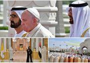 Vizită istorică a Papei Francisc în Emiratele Arabe Unite