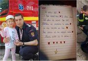 """Antonia a cucerit internetul cu o scrisoare care îți rupe sufletul în două! """"Mami mi-a spus că tati a plecat să salveze oameni!"""" - Ce s-a întâmplat cu pompierul din Alba?"""