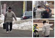 Un pensionar de 69 de ani a fost ARESTAT dupa ce a furat o valiza chiar de sub nasul polițiștilor!