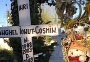 Cel mai vesel loc  într-o mare de tristeţe! Cum arată mormântul băieţelului ucis de câini în 2013! Părinţii au decis să lase din nou bucuria în sufletele lor