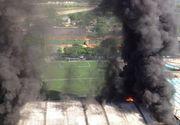 Tragedie uriașă în fotbalul mondial. 10 fotbaliști au murit într-un incendiu de proporții