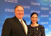 Ana Birchall, discuții de nivel înalt cu Mike Pompeo, secretarul de stat SUA