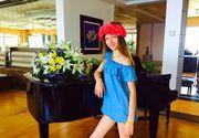Model la 13 ani! EA este românca ce se poate lăuda că a cucerit titlul de Miss World Universe