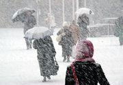 Cod galben de zăpadă şi viscol în 24 de judeţe din ţară. Vânt de până la 90 de km/h
