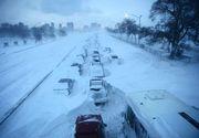 IADUL alb lovește din nou în România! Un val de aer polar aduce temperaturi de până la - 15 grade. Până când va ninge