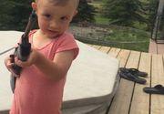 Un copil de doi ani a murit, după ce s-a împușcat accidental! A cui era arma