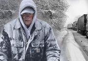 Vremea rea blochează din nou România! Câteva județe sunt paralizate de ninsori! E prăpăd aici!
