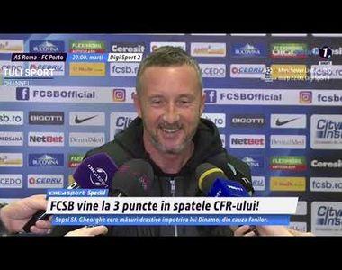 Mihai Stoica l-a lăudat pe Florin Tănase după 3-0 cu FC Hermannstadt
