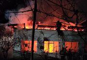 Incendiu devastator la o locuință! A ars din temelii TOTUL! E dezastru într-o localitate din România!