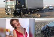 Organismul Andreei a cedat! Șoferița care a intrat cu mașina într-un TIR la Avrig s-a stins din viață