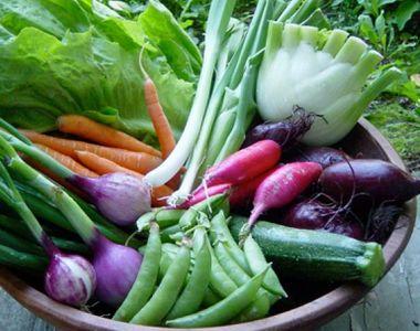 Spanac, ceapa, sau ridichi. Sunt doar cateva dintre legumele romanesti de sezon care au...