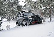 Un sport extrem devine tot mai apreciat printre amatorii de adrenalina pe munte: off road-ul pe traseu de iarna.