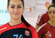 După ce s-a operat la inimă, handbalista Cristina Mitrache vrea la națională! Tânăra extremă de 21 de ani joacă acum la Vâlcea  FOTO