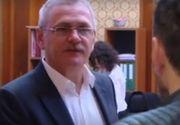 Liviu Dragnea, întrebat despre autostrăzile promise în programul de guvernare, îl invită pe un jurnalist în baie - VIDEO