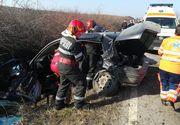 Un bărbat a murit într-un cumplit accident la Arad! O altă persoană a fost preluată, în stare gravă, de elicopterul SMURD