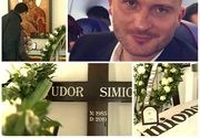 Imagini dureroase de la înmormântarea lui Tudor Simionov, sportivul român ucis la Londra! Iubita, părinții și prietenii, în lacrimi la căpătâiul lui! Lacrimile au curs necontenit pe obrajii lor!
