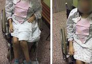 """Povestea care îți dă fiori reci! O copilă de 13 ani imobilizată în scaun cu rotile a născut, la Târgoviște! EL a abuzat-o: """"Își lua liber ca să stea cu ea!"""""""