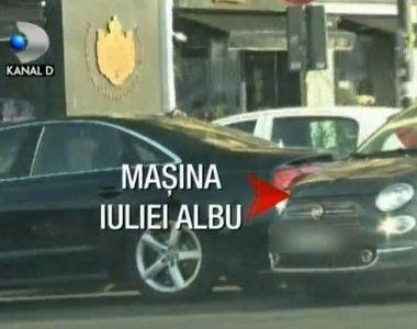 Imagini inedite surprinse cu Cristian Boureanu și Iulia Albu, în parcare! Ce făceau cei...