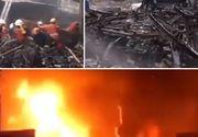 Incendiu de proporții într-un bloc de locuințe. Sunt cel puțin 70 de morți