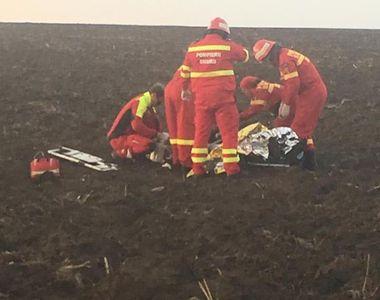 Primele imagini cu avionul prăbușit la Tuzla! O persoană a murit în timpul resuscitărilor