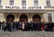 Protest de amploare al procurorilor! Magistrații protestează față de modificările la legile justiției
