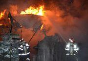 Incident șocant la priveghi. A luat casa foc